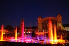 tańcząca fontanna Fotografia Stock