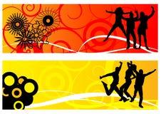 tańczące ludzi Obrazy Royalty Free