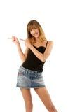 tańczące młode piękności Fotografia Royalty Free