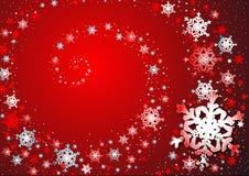 tańczące płatki śniegu Zdjęcie Stock