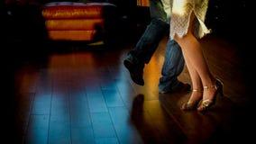 tańczący z ciemności Zdjęcia Stock