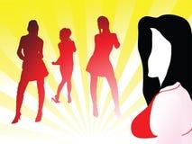 tańcz na noc Obraz Royalty Free