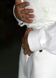 tańcz pierwszy ślub Zdjęcie Stock