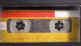 Taśma dźwiękowa Rocznik taśmy pisak bawić się audio kasetę wkładającą w tym zbiory wideo