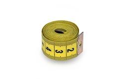 taśma pomiarowego żółty Fotografia Stock