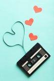 Taśmy dźwiękowa kaseta Obraz Royalty Free
