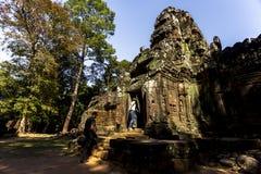 Ta索马里兰吴哥窟暹粒柬埔寨东南亚是一个小寺庙在吴哥,柬埔寨,被建立在12世纪结束时 库存图片