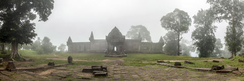 Ta呻吟声Thom寺庙柬埔寨 免版税库存图片