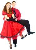 οι χορευτές ταλαντεύον&ta Στοκ Εικόνες