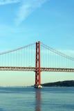 25ta April Bridge, Lisboa, Portugal Imagen de archivo libre de regalías