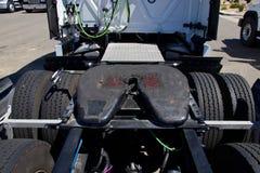 5ta asamblea de la rueda del Semi-camión fotografía de archivo