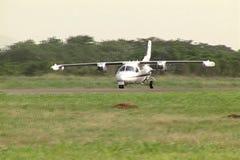 Ta av flygplan lager videofilmer