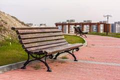 Ta av planet i en parkera Fotografering för Bildbyråer