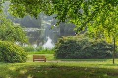 Ta av planet i parkera Royaltyfri Foto