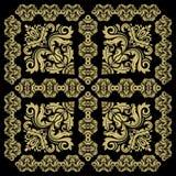 tła bezszwowy adamaszkowy Obraz Royalty Free