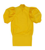 Żółta bluzka Fotografia Royalty Free
