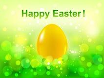 tła bokeh Easter zielony szczęśliwy Zdjęcia Stock