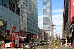 34ta calle en Nueva York Imágenes de archivo libres de regalías