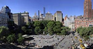 14ta calle Union Square Parl en New York City imagen de archivo