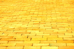 Żółta Ceglana Droga Obraz Stock