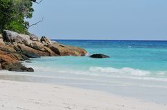 Ta-chai island beautiful beach Stock Images