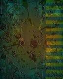 tła ciemnego projekta brudny zielony grunge Zdjęcie Stock