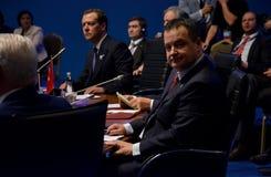 25ta cumbre del aniversario de la cooperación económica BSEC del Mar Negro Fotografía de archivo libre de regalías