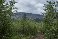 TA da montanha de Ridge Imagem de Stock Royalty Free
