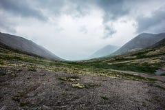 TA da montanha de Ridge Imagens de Stock