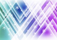tła dekoracyjnego projekta graficzny ilustracyjny płatków śniegów wektor Obrazy Stock