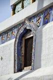 Ta'er喇嘛寺院窗口  图库摄影