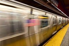 34ta estación de metro de la calle - NYC Imagen de archivo libre de regalías