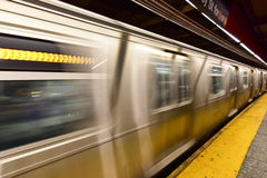 34ta estación de metro de la calle - NYC Imagen de archivo