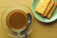Ta ett kaffeavbrott Fotografering för Bildbyråer