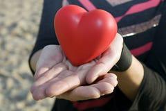 ta för hjärta Arkivfoton
