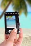 ta för ship för strandoflbild Fotografering för Bildbyråer