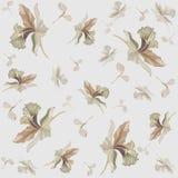 tła fashi kwiatów ornament bezszwowy Obraz Royalty Free