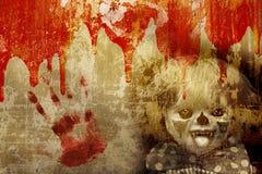 tła grunge Halloween Obraz Royalty Free