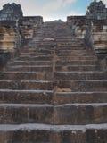 Ta Keo, tempel-berg i Angkor, Cambodja Royaltyfri Foto