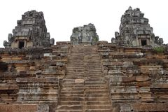 Ta Keo Temple in Angkor Stock Image