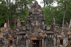 Ta Keo Temple in Angkor Stock Photography