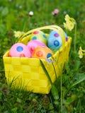 tła koszykowy Easter astronautyczny tekst Zdjęcie Stock