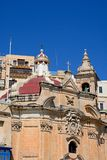Ta Liesse Church, Valletta. Royalty Free Stock Photography