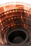 taśma filmowa 35 mm Zdjęcia Royalty Free