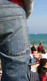 ta marka jeansów Zdjęcie Royalty Free