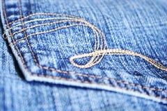 ta marka jeansów kieszeń Zdjęcia Royalty Free