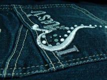 ta marka jeansów kieszeń Fotografia Stock