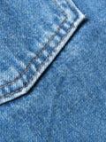 ta marka jeansów kieszeń Zdjęcia Stock