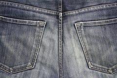 ta marka jeansów niebieski Zdjęcie Stock