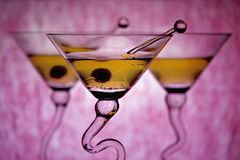 tła martinis menchie Obrazy Royalty Free